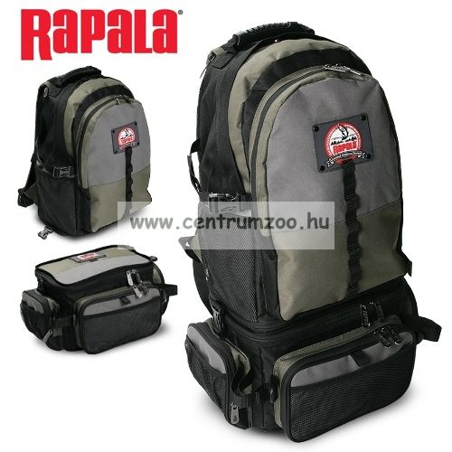Rapala táska Limited Series 3-in-1 Combo Backpack 46002-1