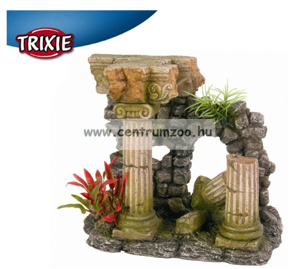 Trixie akvárium dekorációs kerámia római rom 16cm (TRX8803)