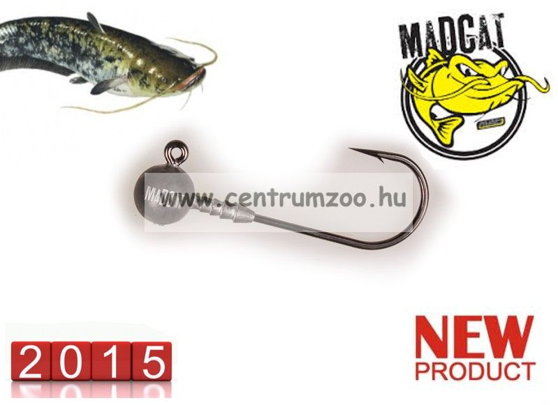 MAD CAT MADCAT JIGHEAD / 80 g / BULK súlyos jigfejes horog  (5797080)