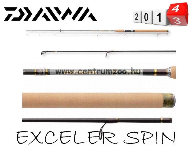 Daiwa Exceler Spin 2,40m 10-20g pergető bot (11660-210) + AJÁNDÉK