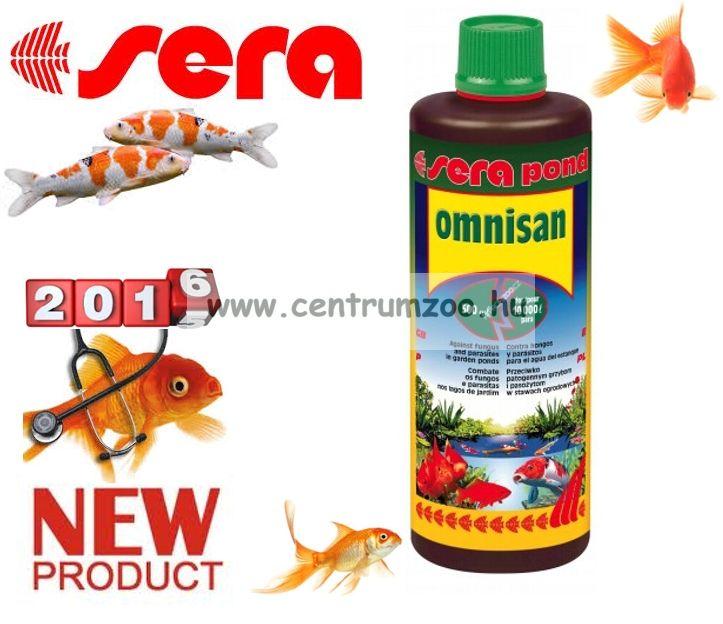 Sera Pond Omnisan tavi halgyógyszer - 500 ml - 10 m3 vízhez (007560)