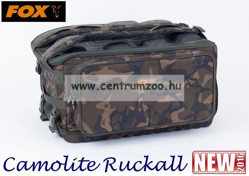 Fox Camolite Ruckall horgász hátizsák 50x43x27cm (CLU307)