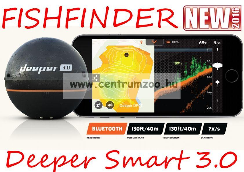 Deeper Smart Fishfinder 3.0.2016 halradar NEW (5351500)