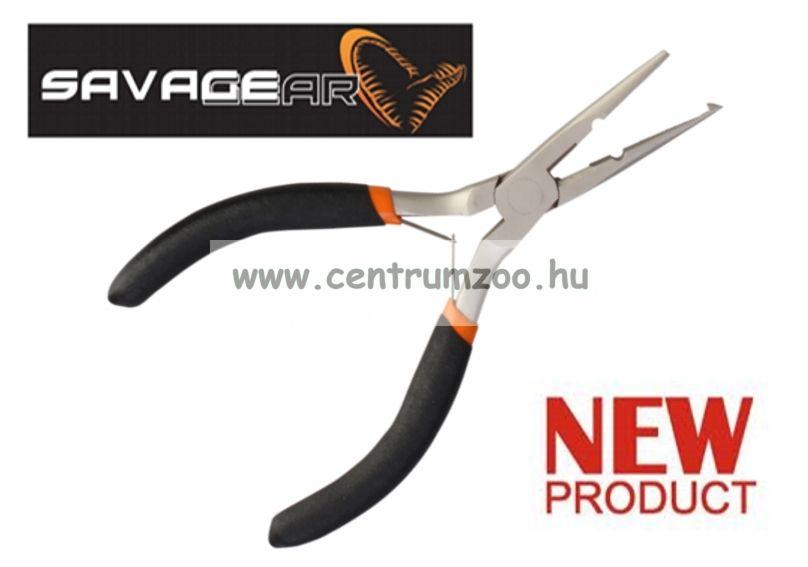 SAVAGE GEAR Spilt Ring Plier S prémium horgászfogó (47029)