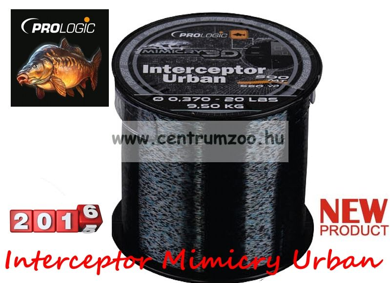 Prologic Interceptor Mimicry Urban 500m 17lbs 7.8kg 0.331 zsinór (49983)