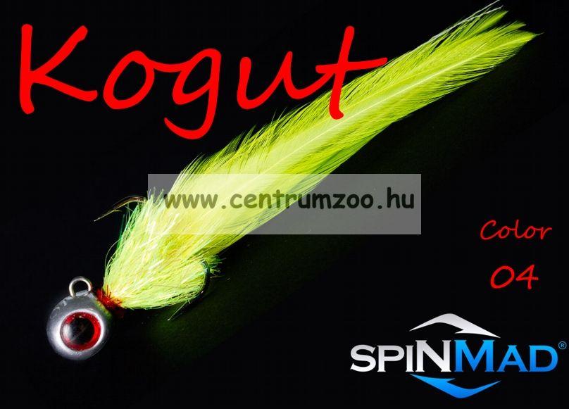 SpinMad Kogut műcsali Color 04 - több méretben