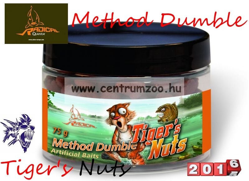 Radical Carp Method Dumble Tiger's Nuts 8mm 75g (3962608)