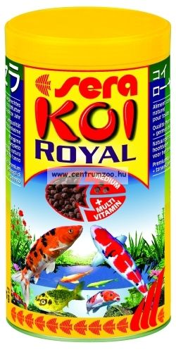 Sera KOI ROYAL HF MEDIUM tavi haltáp  1 liter (7115)