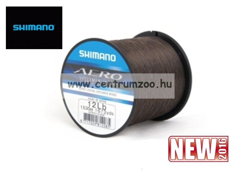 Shimano zsinór Aero Reel 0,31mm 10lb 1920m (AEROS10LBQP) monofil zsinór
