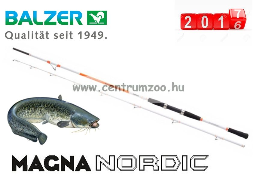 BALZER Magna Nordic Flexo Jig 220 harcsás bot 2,10m 55-210g (11714215)