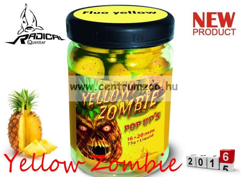 Radical Carp Yellow Zombie Neon Pop Up's  16+20mm 75g (3943053)