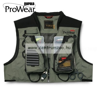 Rapala Pro Wear Short Shallows Vest Forest Green rövid mellény XXL (22002-1)