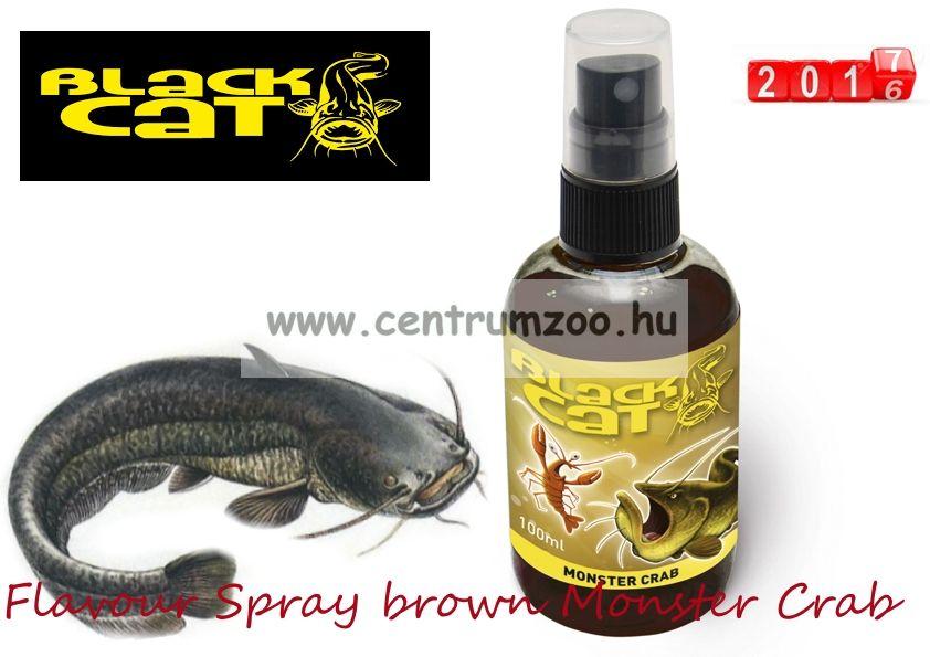 Black Cat Flavour Spray brown Monster Crab 100ml harcsamágnes aroma (3904001)