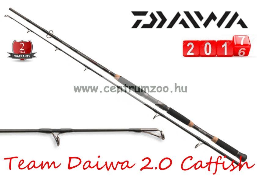 Daiwa Team Daiwa Mode 2.0 Catfish 2,4m   80-250g harcsás bot (11705-240)
