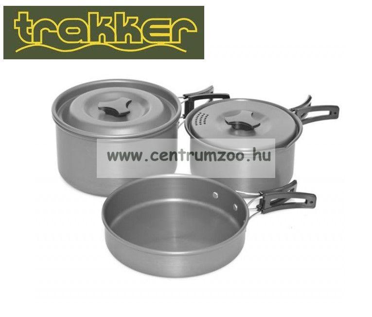 Trakker Armo 3 Piece Cookware Set - 3 részes edényszett (211200)