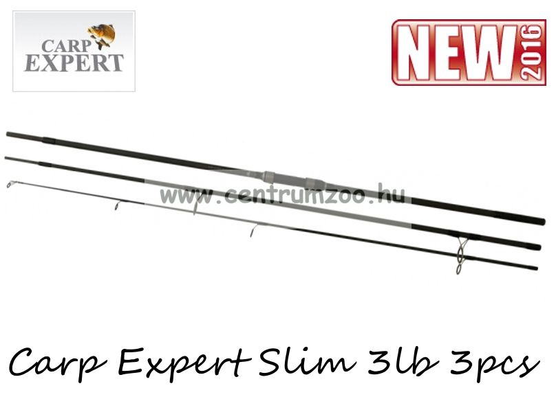 CARP EXPERT SLIM 3,9m 3lb 3r bojlis bot (13386-391)