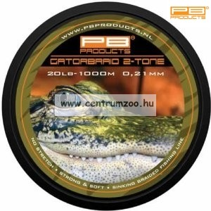 PB Products Gator Braid 0.26mm 1000m fonott zsinór (GAT26)