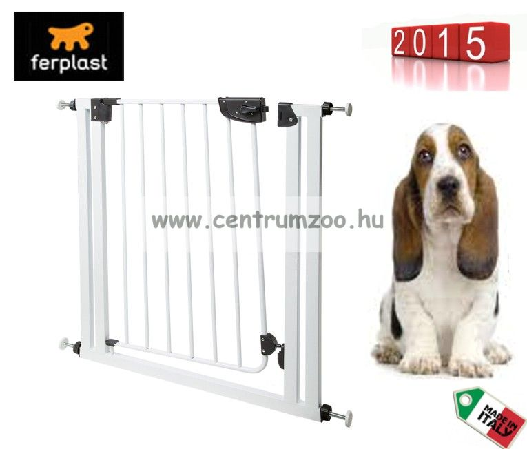 Ferplast Dog Gate & Barrier ajtórács 70 x h 79 cm