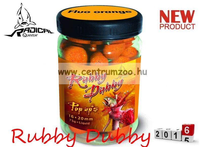 Radical Carp Rubby Dubby Neon Pop Up's 16+20mm 75g (3943054)