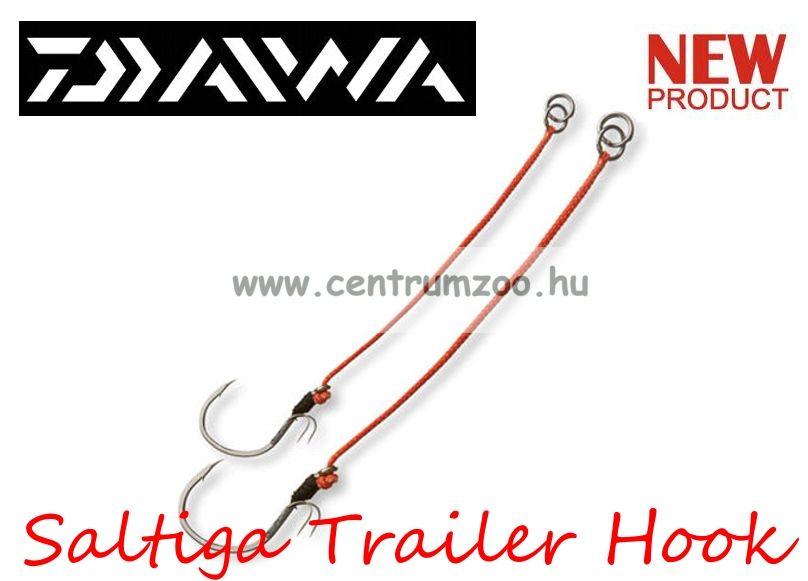 Daiwa Saltiga Trailer előkötött horog 3/0 2db (16522-130)