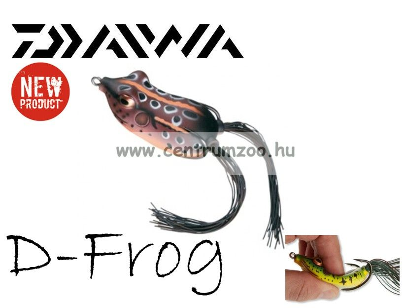 Daiwa D-Frog 6cm béka műcsali - brown (15605-006)