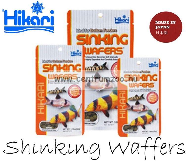 Hikari Sinking Wafers 110 g - süllyedő haltáp (21521)