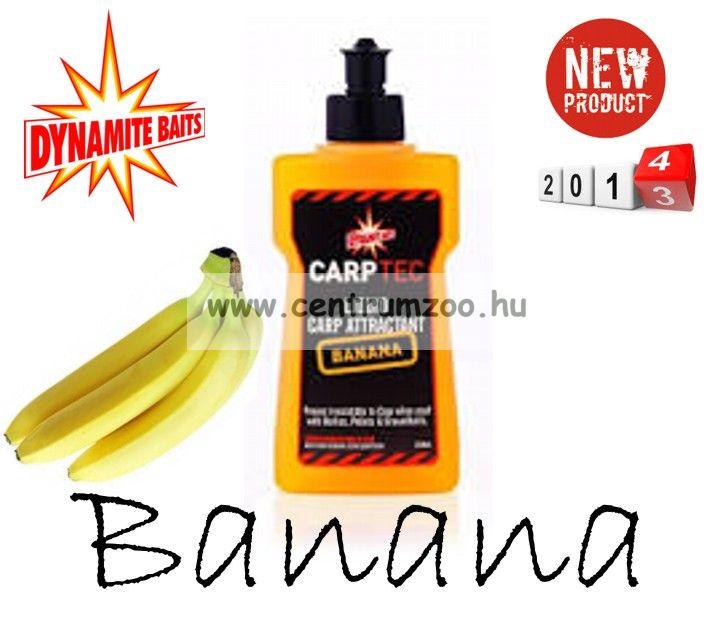 Dynamite Baits CarpTech Banana banán Liquid aroma 250ml DY732