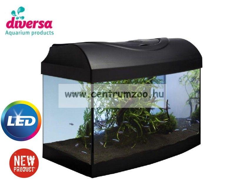 DIVERSA 60 LED Startup New 45 ÍVES literes felszerelt akvárium szett