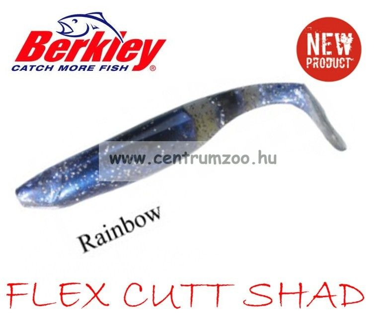 Berkley Flex Cutt Shad gumihal RAINBOW 10cm (1303795)