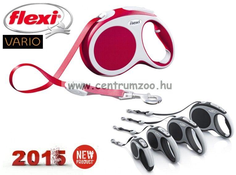 Flexi Vario Tape 2015NEW XS RED SZALAGOS 3m 12kg automata póráz -PIROS