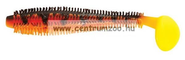 Fox Rage Spikey Shad Hot Tiger  9cm Bulk prémium gumihal  (NSL807)