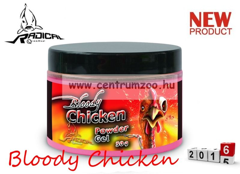 Radical Carp Bloody Chicken Neon Powder Dip 50g (3949018)