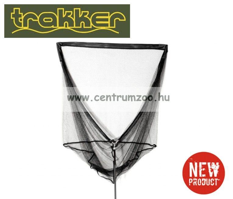 MERÍTŐ  Trakker - EQ CARBON LANDING NET BLACK - Fekete karbon merítő nyéllel (214155)