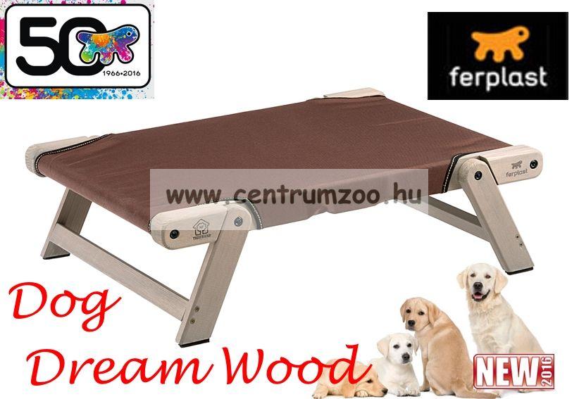 Ferplast Dog Dream Wood Medium elegáns fekhely fából