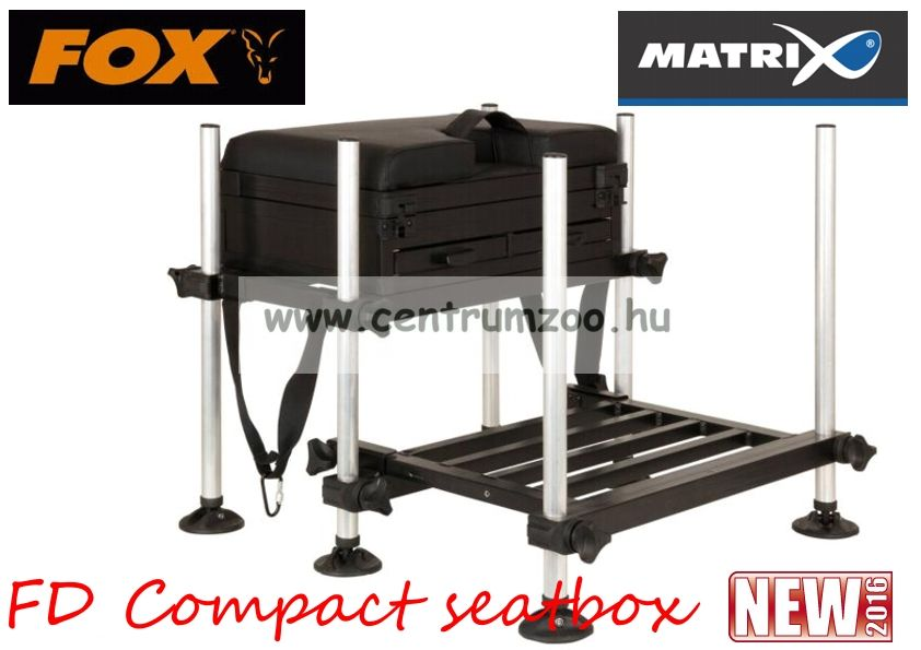 Fox Matrix® FD Compact seatbox feeder-match versenyláda  (GMB098)