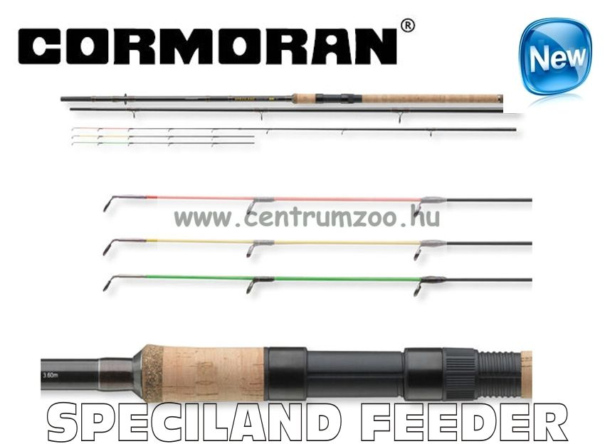 CORMORAN SPECILAND  Feeder Heavy  3.90m  -150g feeder bot (25-1150390) + ZSINÓR