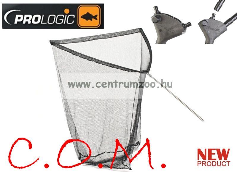 PROLOGIC C.O.M. Quick Release Landing net 32' 2sec handle ERŐS fej ERŐS karbon merítő nyéllel (47300)
