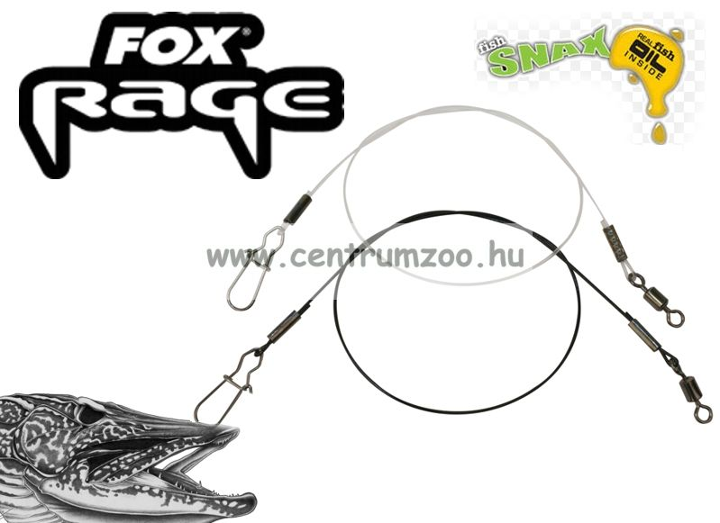 Fox Rage Fluorocarbon Leader 30cm 0,60mm (NWL051)