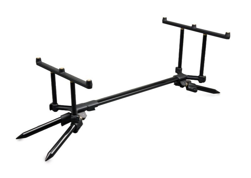 FOX Stalker Plus Pod inc Case & Buzzer Bars masszív bottartó állvány 3 bothoz (CRP022)