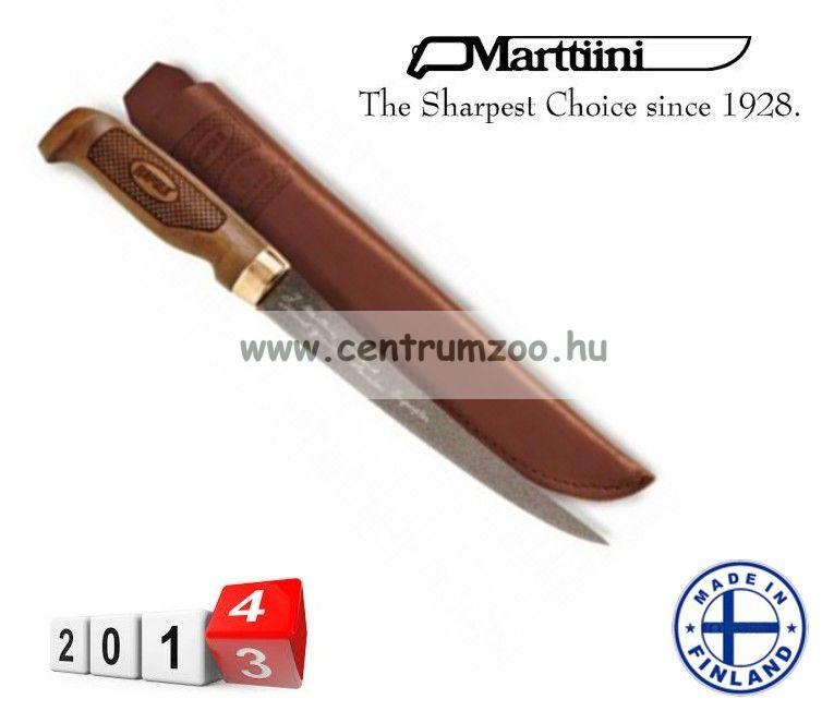 Marttiini Classic Superflex Filleting filézőkés 27cm (FNFSF6) TEFLONOS, BŐR TOKKAL