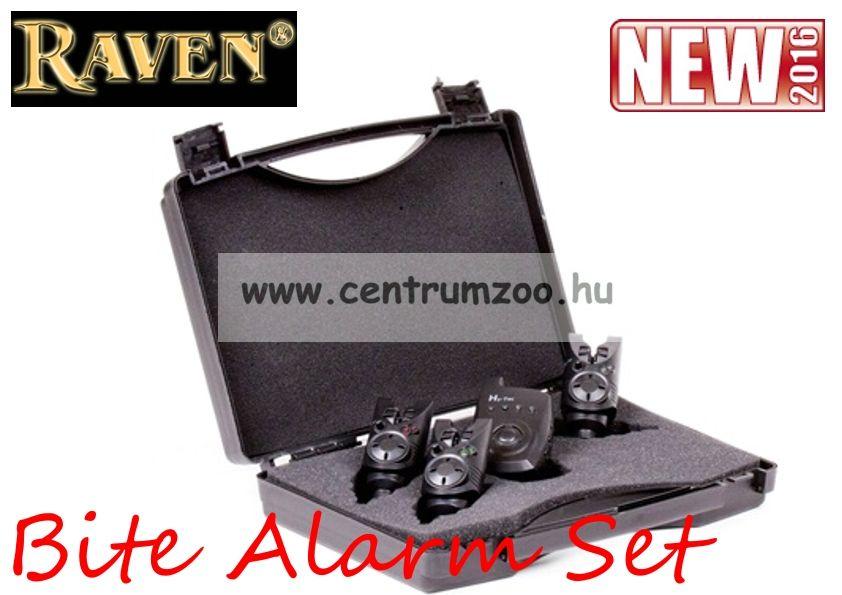 Raven Hy 20 Bite Alarm Set 3+1 (RAVAV4876) elektromos kapásjelző szett