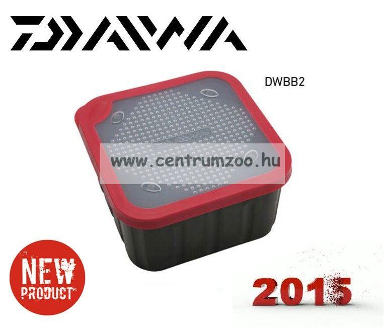 DAIWA BAIT BOX 2liter csalitartó doboz biztos zárással (DWBB2) (191819)