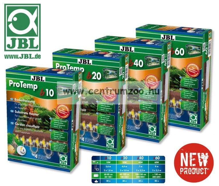JBL ProTemp B60 talajfűtő kábel akváriumba, terráriumba 60W  9m (60418)