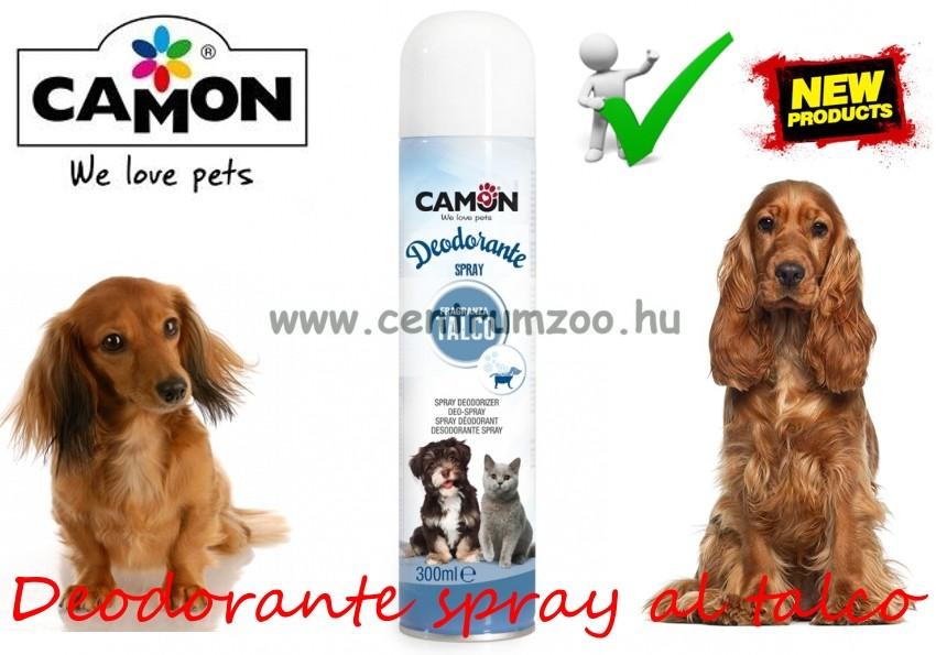 Camon Amici e felici Deodorante spray al talco parfüm dezodor kutyáknak, macskáknak - LA150