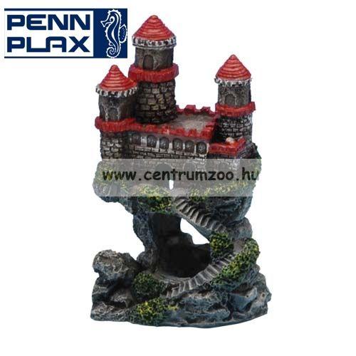 Penn Plax Deco Castle Red dekorációs szoborakváriumba 10,2cm (027475)