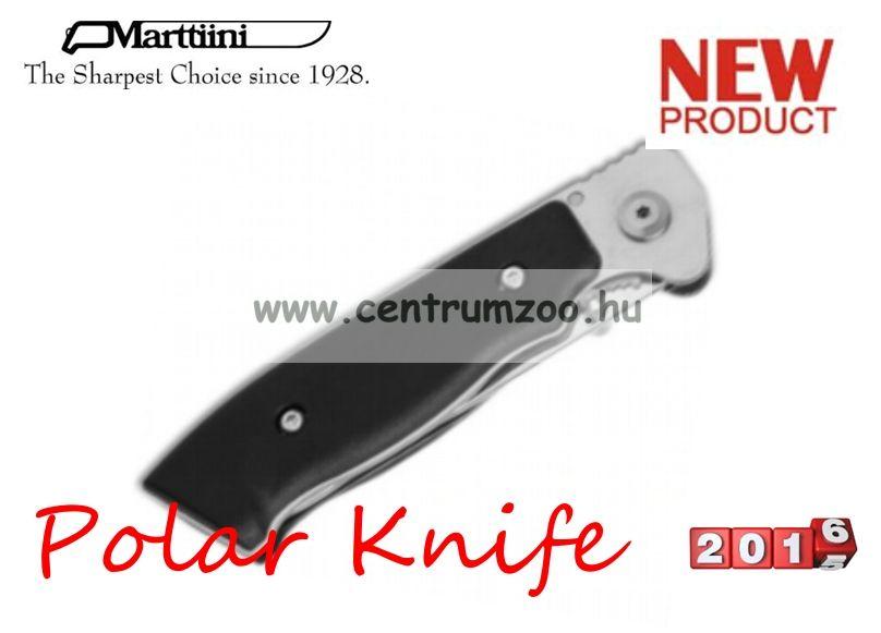 Marttiini Polar 20cm (gumi nyél) zsebkés  (945110)