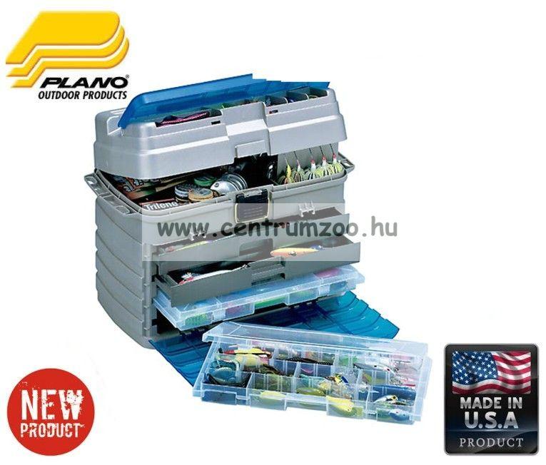 Plano 759- 003 2 fiók-2 dobozos láda 53x29x39cm homok/kék 53x29x39cm