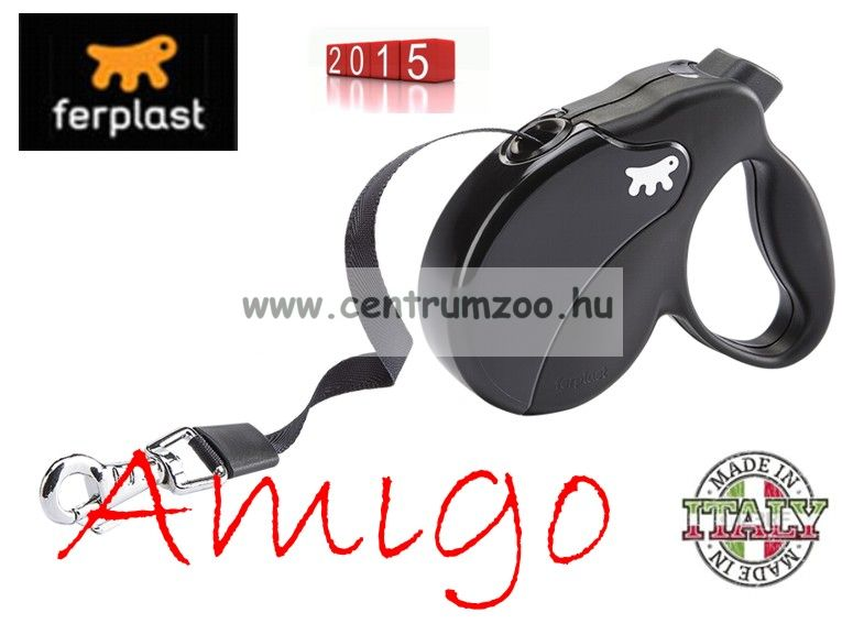 Ferplast AMIGO TAPE MINI automata póráz BLACK