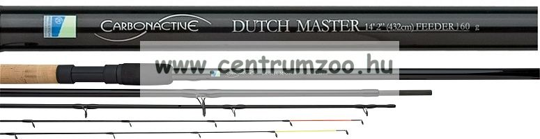 "Preston Carbonactive DUTCH MASTER Feeder Rods 14'2"" 432cm 130g"