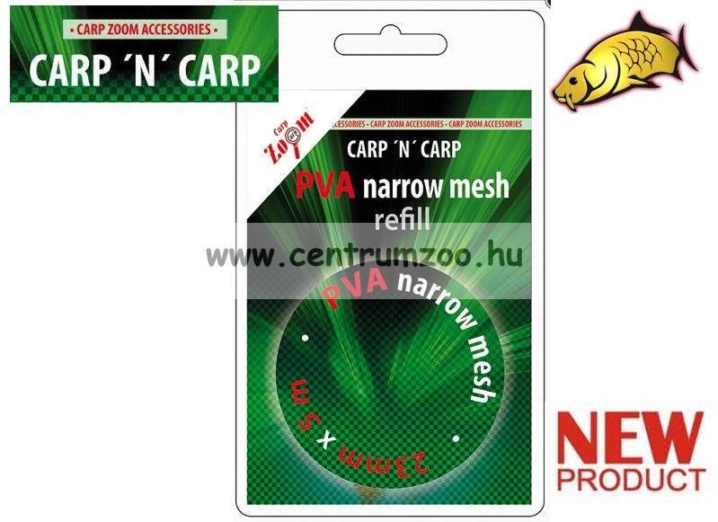 Carp'N'Carp PVA Narrow Mesh Refill - háló 37 mm x 5 m -es utántöltő (CZ8849